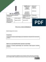 Guía de aprendizaje N°2 - Epistemología de la ciencia