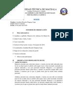 102618101 Informe de Observacion de Conducta