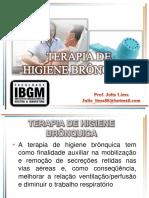 Terapia higiene bronquica