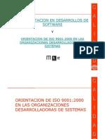 Orientacion Iso9001 Empresas Desarrolladoras de Software