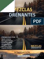 MEZCLAS DRENANTES
