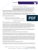 internship program overview