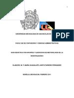 Guia Didáctica Apuntes y Ejercicios de Metodología de Investigación II