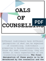 Goals of Counselling