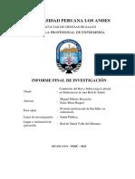 Confusión Del Rol y Sobrecarga Laboral 2019 Huancayo