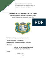 Trabajo Metodologia de La Investigacion Cientifica