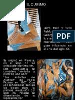 Vanguardias (Presentación)- cubismo
