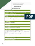 Carta Descriptiva Del Curso a Impartir