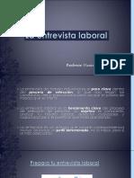 TALLER N4 La Entrevista Laboral