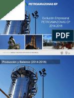 PAM Evolucion Empresarial 2014-2018