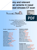 ct scan variation sinus
