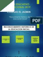 Reconocimiento Historico de La Educacion Inicial