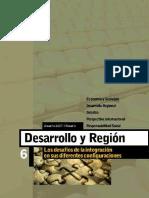 DESARROLLOY REGIÓN 2007