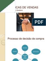 técnicas de vendas processo de decisão de compras