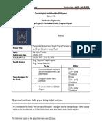 3rd Weekly Progress Report Template Pilande