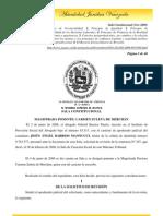 Sala Constitucional (Nov-2008) Principios Que Rigen El Proceso Laboral y Otros Temas