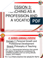 PPT 3- Teaching As a Profession and Vocation.pptx