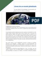 Articulo Globalizacion
