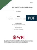 Formula SAE Electrical System Design