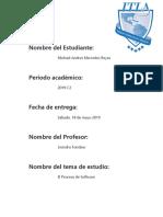 Práctica 2 - El Proceso de Software