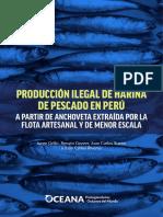Produccion Ilegal de Harina de Pescado  OCEANA