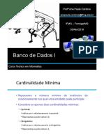 Aula 02 Banco de Dados I 05-04-2018