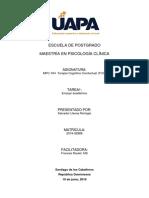 Evolución de La Terapia Cognitiva-Tarea 1-Ensayo-Salvador Llenas Remigio