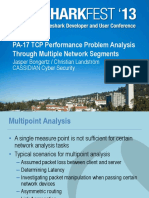 TCP Performance Problem Analysis Through Multiple ... - Sharkfest.pdf
