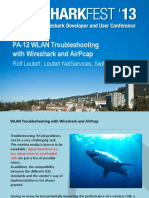 WLAN Troubleshooting With Wireshark and AirPcap - Sharkfest ...