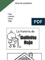 La Gallinita Roja para leer en grupo