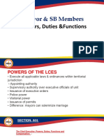 Powers LCE and SB