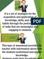 Performance Based Assessment Report