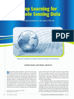 Deep Learning for Remote Sensing Data