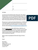 Hortman E-Mail