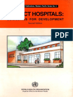 District Hospitals Guidelines for Development