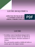 Clase 2 Leche, Bioquimica