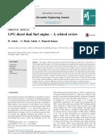 liquid petroleum gas and biogas comparison of performance