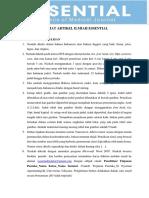 Format Artikel Ilmiah Essential