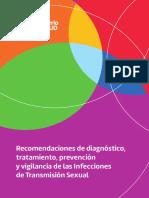 Recomendaciones de diagnóstico, tratamiento, prevención y vigilancia de las Infecciones de Transmisión Sexual