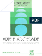 BENZAQUEN VIVEIROS de CASTRO. in Gilberto Velho (Org.) - Arte e Sociedade - Ensaios de Sociologia Da Arte.