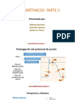 ANTIARRITMICOS  PARTE II.pptx