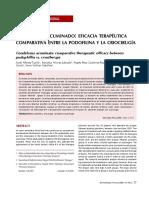Condiloma Acuminado Eficacia Terapeutica Comparati