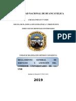 Propuesta Reglamento de Comedor Universitario Unh 2018 Actualizado