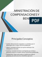 Administración de Compensaciones y Beneficios