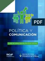 Política y Comunicación CLASE 1