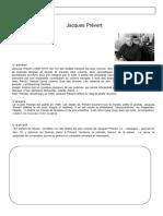 Biographie Facile de Jacques Prevert Suivie en Sor Fiche Pedagogique 108622