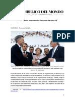 Cuatro razones para entender el acuerdo Mercosur-UE*