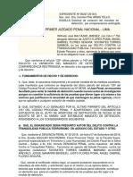 VARIACION DE DETENCION POR COMPARESCENCIA  CASO RICHARD.docx