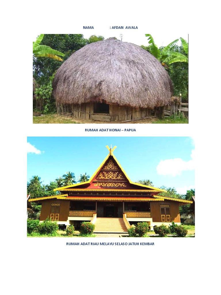 Rumah Adat Riau Melayu