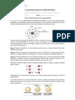 Guía de Cargas Electricas 8º Basico
